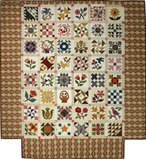 From my heart to your hands: Quilt Designs by Lori Smith : sampler quilt pattern - Adamdwight.com